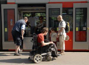 Сопровождение инвалида 1 группы в транспорте