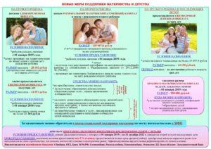 Государственная программа поддержки материнства и детства