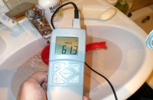 Измерение горячей воды в квартире