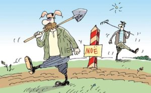 Сосед незаконно захватил часть земельного участка