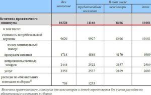 Как посчитать прожиточный минимум для получения детского пособия 2020