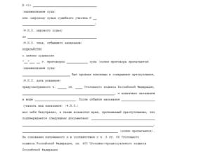 Заявление в суд на досрочное погашение условной судимости