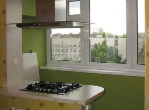 Можно ли присоединять балкон к кухне
