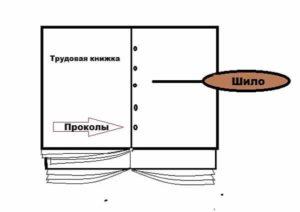 Как пришить вкладыш к трудовой книжке пошаговая инструкция