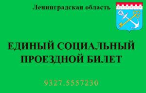 Социальная карта ленинградской области