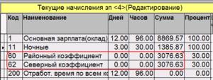 Как рассчитать районный коэффициент и северную надбавку
