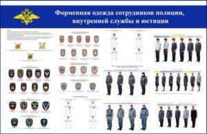 Протокол за ношение формы полиции