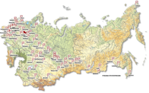 Ракетные войска стратегического назначения где находятся части
