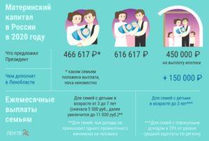 Что дают за 5 ребенка в 2020 году в башкирии