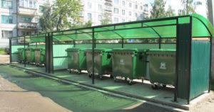 Выбор места для установки мусорного контейнера