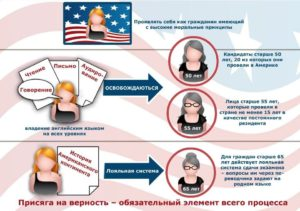 Сколько лет надо прожить в америке чтобы получить гражданство