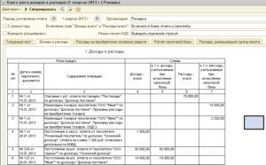 Как сделать книгу учета доходов и расходов ип