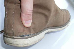 Как вернуть обувь в магазин если она порвалась
