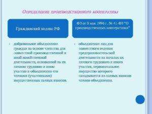 Закон о производственных кооперативах действующая редакция