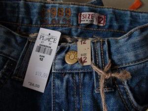 Возврат одежды в детский мир без бирки
