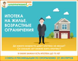 Со скольки лет дают ипотеку на квартиру в втб