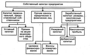 Собственные средства предприятия понятие структура и характеристики
