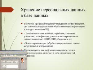 Хранение персональных данных в организации на бумажном носителе