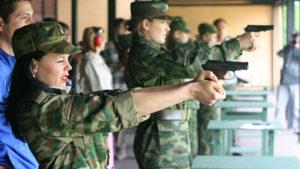 Как девушке попасть в армию по контракту