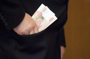 Срок за взятку в особо крупном размере