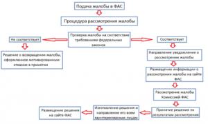 Как обжаловать в федеральную антимонопольную службу решение территориального уфас