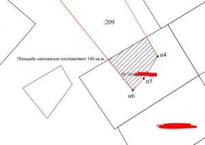 Наложение границ земельного участка судебная практика