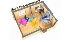 Как долю в квартире превратить в комнату