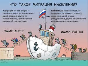 Разница между эмиграцией и иммиграцией