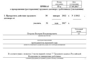 Дата приказа на отпуск и дата заявления должны совпадать