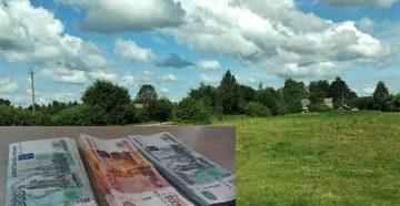 Вместо земли многодетным деньги