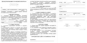 Договор безвозмездного пользования автомобилем с экипажем образец 2020